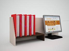 Офісна перегородка для столів FlashNika / ФлешНика ЕКО ПН - 34