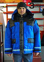 Куртка зимова робоча Дюспо на флісі
