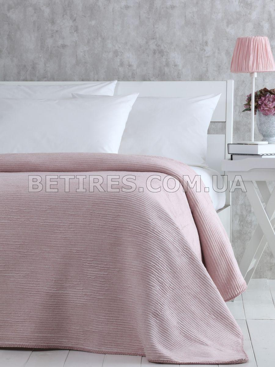 Покрывало 200x220 PAVIA DAIRA PUDRA розовое