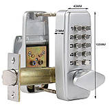 Кодовый замок механический Lockod мини, фото 4