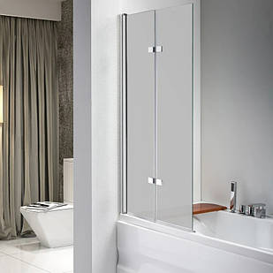 Стеклянная шторка для ванны AVKO Glass 647 120х140 см перегородка для ванной Матовое