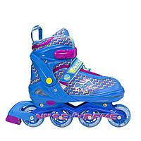 Роликовые коньки Nils Extreme NJ4613A Size 38-41 Blue
