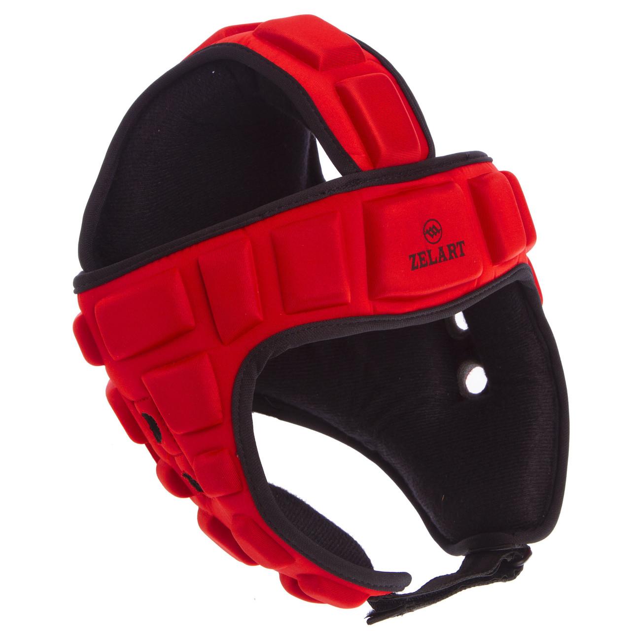Шлем для борьбы красный  (EVA, нейлон) MA-4539