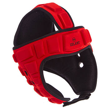 Шлем для борьбы красный  (EVA, нейлон) MA-4539, фото 2