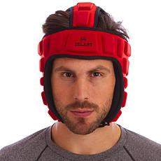 Шлем для борьбы красный  (EVA, нейлон) MA-4539, фото 3