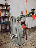 Хутряний плед Pistachio, фото 3