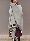 Хутряний плед Pistachio, фото 2