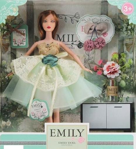 Лялька Emily з аксесуарами QJ088D