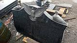 Памятник двойной с голубями, фото 2