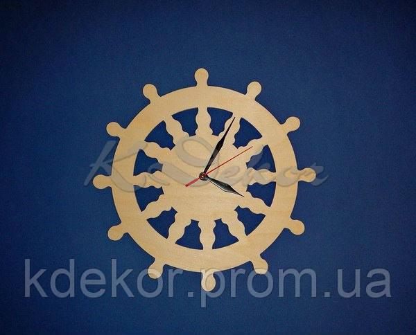 ШТУРВАЛ основа для годинників (заготівля для декору)