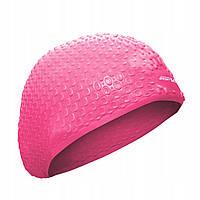 Шапочка для плавания SportVida SV-DN0014 Pink