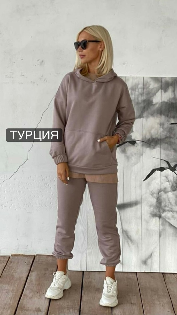 Женский костюм «Обманка» Турция