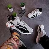 Мужские кроссовки Ена буст (серо-черные), фото 3
