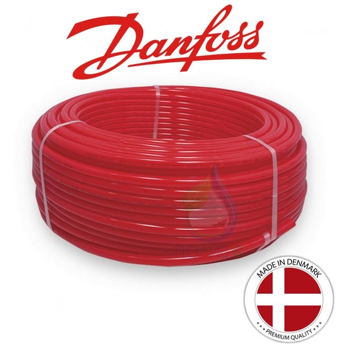 Труба для теплої підлоги Danfoss PEX-A 16x2.0 з кисневим бар'єром