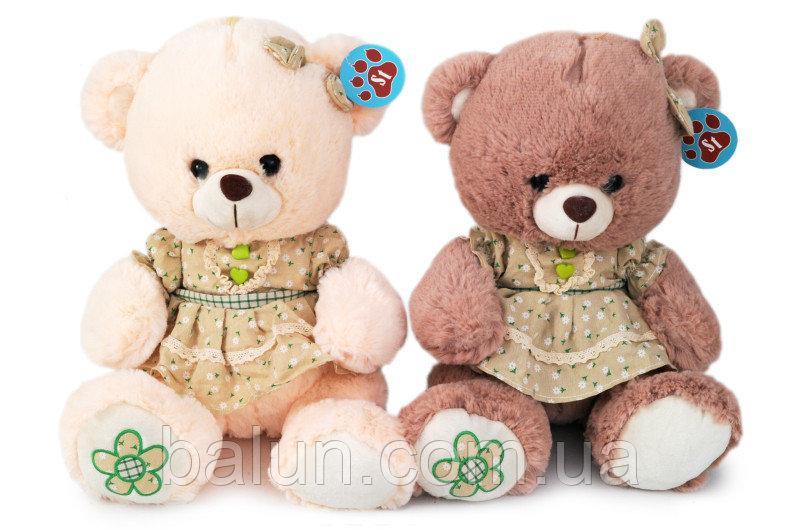 Ведмедик в платті муз (2 кольори)   2752/33   33см