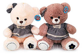 Ведмедик в платті муз (2 кольори) 2764/33  33см