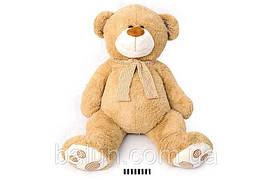Ведмедик з шарфом сірий  3660/100  100 см (8)>