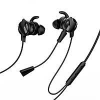 Наушники игровые с микрофоном для телефона гарнитура проводная Baseus GAMO C15 Type-C черные, фото 1