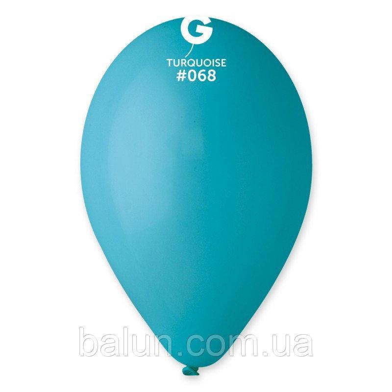 GEMAR G110 (Пастель) 12'' бірюзовий 068