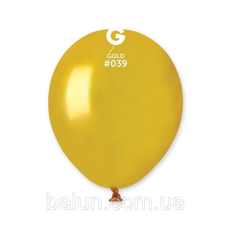 """GEMAR  АМ50 (Металік) 5"""" золотий 039"""