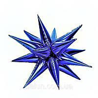 Зірка 3D (синій) 100х100см