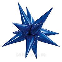 Зірка 3D (синій) 65х65см