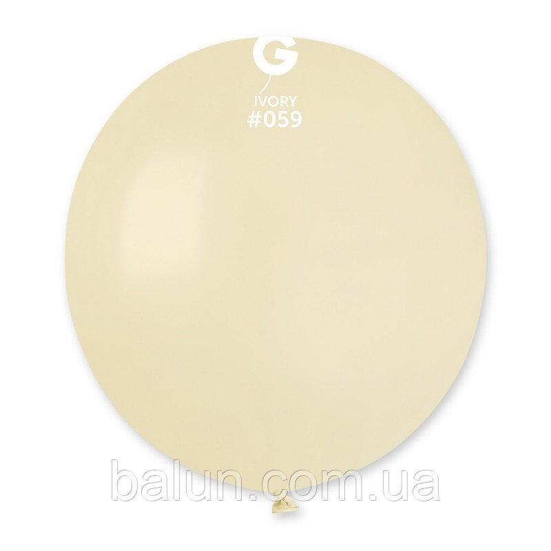 """Gemar G150 19"""" іворі (1 шт) 059"""