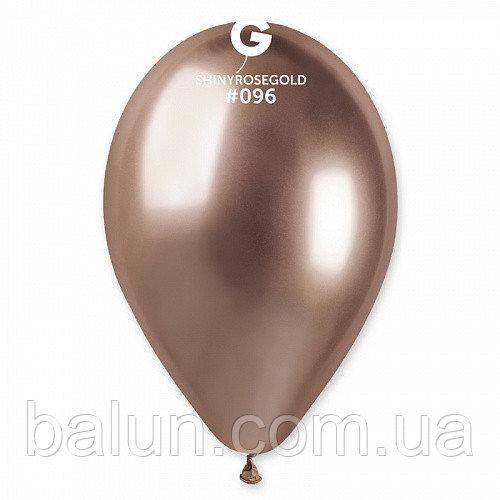 GEMAR GB120 13'' хром рожеве золото (50шт) 096