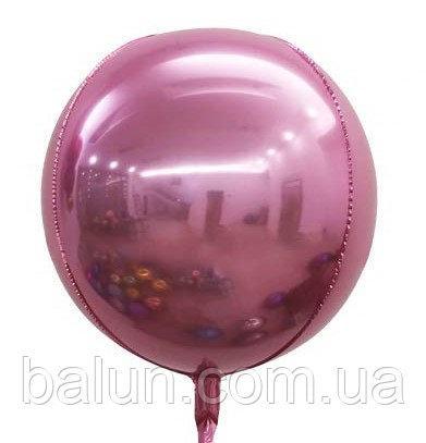 "4D Сфера (рожевий) 22""(55см)"