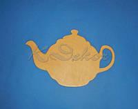 Чайник основа для часов заготовка для декупажа и декора