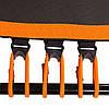 """Фитнес батут с ручкой 50""""(127см), черный/оранжевый, фото 3"""