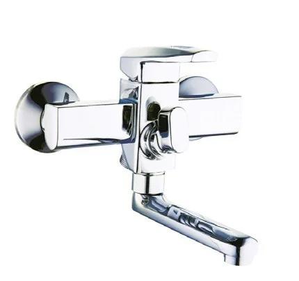 Змішувач для ванної з литим поворотним изливом ZEGOR NOF3-A033