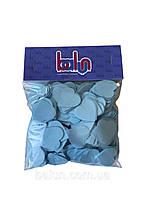 Конфеті світло-голубе (сердечки) 50 грам