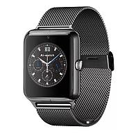 Розумні годинник Smart Watch X7 black з металевим ремінцем