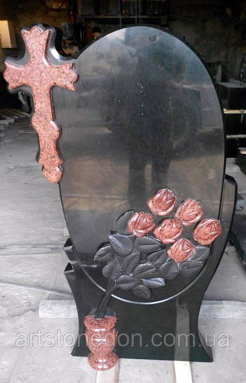 Памятник Букет роз