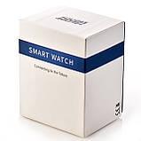 Смарт годинник Lokmat MK 18 чорні водонепроникні розумні годинник SmartWatch, фото 3