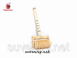 Масажер дерев'яний для спини