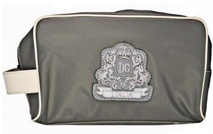 D.Gabbana 136-1 барсетка, ткань, натуральная кожа