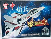 Самолет планер на радиоуправлении с пультом SU-27