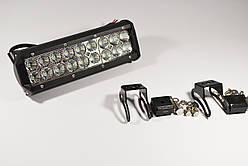 Светодиодная LED фара робочая 54вт 18диод LED LIGHT BAR