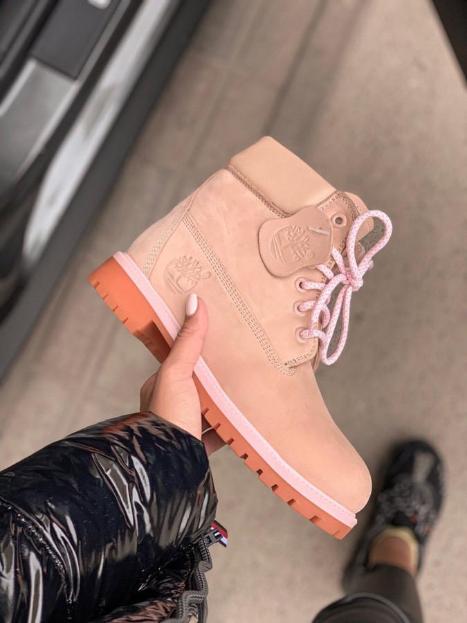 Женские ботинки Timberland SALE мех