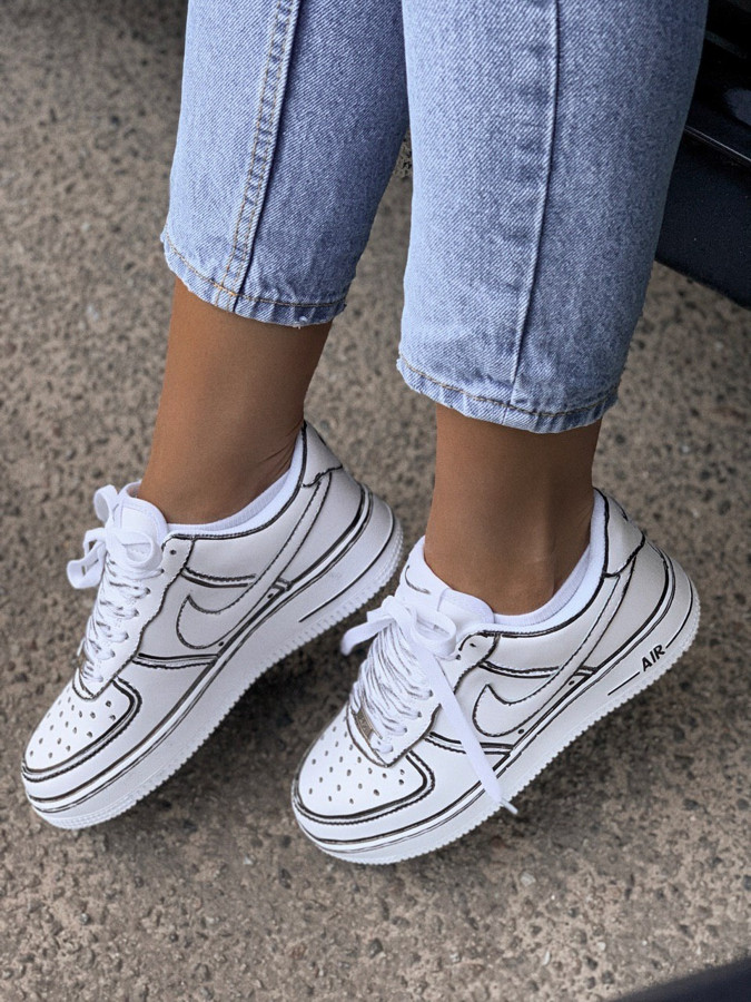 Air Force 1 Low Graffity