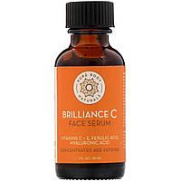 """Сыворотка для кожи лица с витаминами C и E """"Brilliance C"""" от Pure Body Naturals, 30 мл, фото 1"""