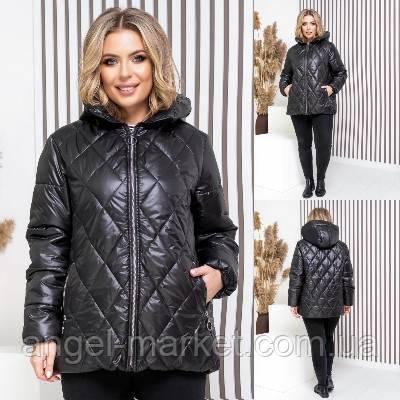 Жіноча куртка силікон 150 батал новинка 2021