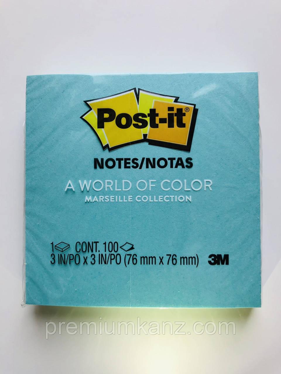 Бумажные стикеры 3M Post-it  76х76 мм  100 листов