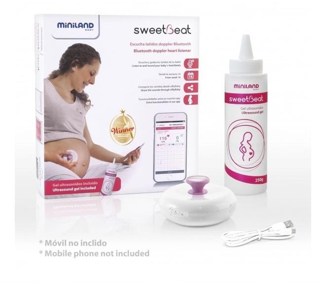 Ультразвуковой фетальный доплер для беременных Miniland Sweetbeat (89195)