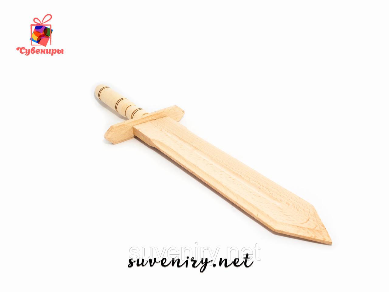 Деревянный сувенирный меч ручная работа