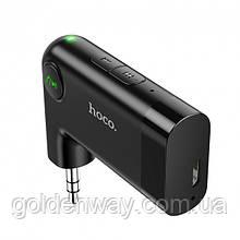 Блютуз bluetooth переходник в адаптер AUX Hoco Dawn sound in-car AUX wireless receiver E53