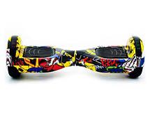 Smart Balance Жовтий Хіп-хоп міні сігвей гироскутер ( Гироборд ) колеса 6.5, фото 3