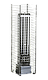 Настеная электрокаменка HUUM CLIFF 9 кВт, объем парилки 9-15 м.куб, вес камней 75 кг, фото 2